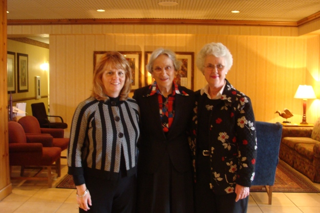 Darlene, Martha and carol